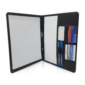 Resume Folder For Interview | Slim Ambidextrous Notepad Portfolio With Magnetic Closure